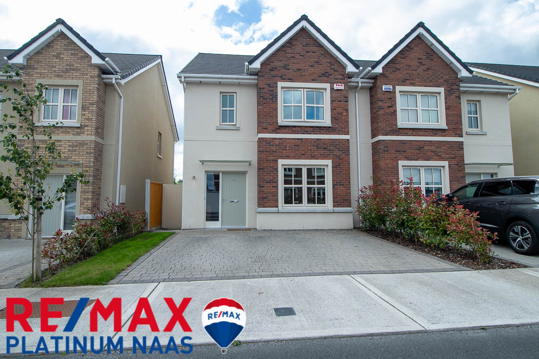 41 Stoneleigh Naas Co Kildare – House for Rent